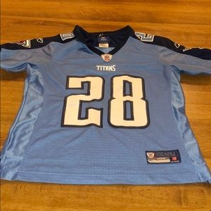 Tennessee Titans Jersey Women's